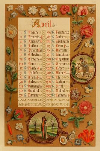 005-Santoral de Abril--Les évangiles des dimanches et fêtes de l'année –Vol 1- 1864- Leon Curmer