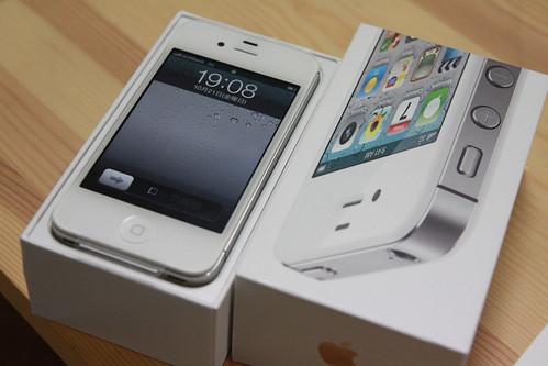 iPhone4Sをゲット!