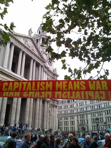 """Capitalism means war"""