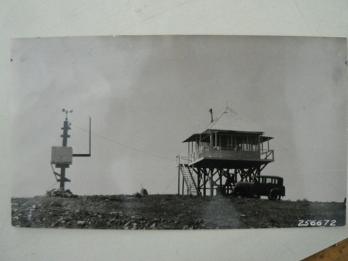Frazier Mountain Lookout, 1930s