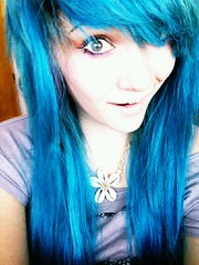 (LollyMonsterCaykes1) Tags: blue monster hair out turquoise lollypop tripped flickrandroidapp:filter=none caykes