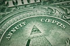 Annuit Coeptis (sketchy-boy) Tags: macro us bill nikon 85mm american micro dollar nikkor f35 annuit coeptis
