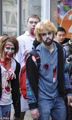 Zombie_Walk_157 (Pardon The Lens) Tags: toronto ontario canada halloween dead scary blood nikon zombie makeup brains gore undead downtowntoronto zombiewalk torontozombiewalk tzw nikond90 102211 zombiewalktoronto braindrive torontozombiewalk2011 oct2211 tzw11 tzw2011
