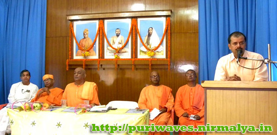 Youth Convention held at Ramakrishna Mission Ashrama, Puri