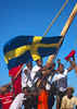 Dhow in Lamu - Kenya (Eric Lafforgue) Tags: africa island boat kenya sweden flag culture unescoworldheritagesite afrika tradition lamu dhow swahili afrique eastafrica quénia lafforgue ケニア quênia كينيا 케냐 кения 119833 keňa 肯尼亚 κένυα tradingroute кенијa