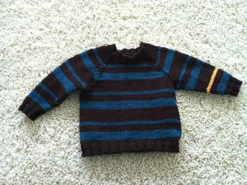 Gunnison's sweater