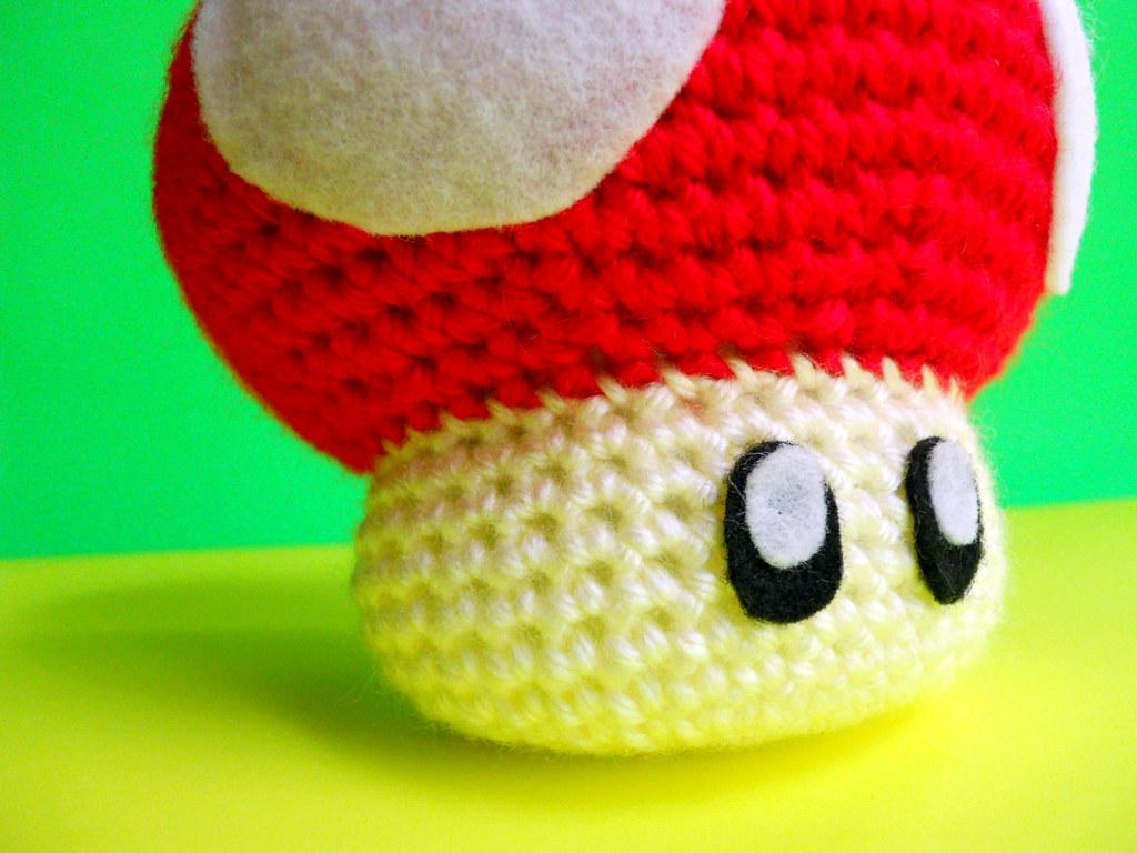 Red Mario Mushroom by nerdJERK