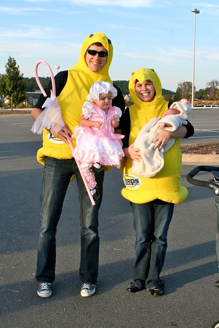 John and I were Peeps, in keeping with our theme.