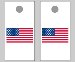 US Flag Cornhole Boards