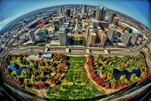 St. Louis from 630' by Darryl W. Moran Photography