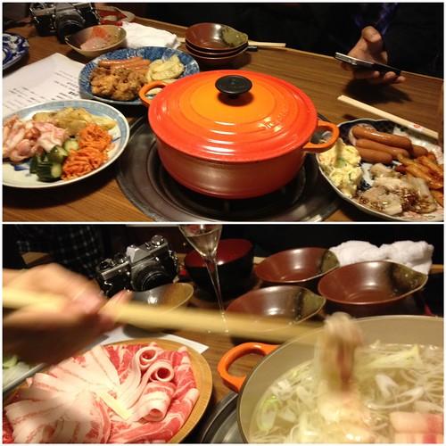 豚組しゃぶ庵で豚フル会でした!(2011/10/26)