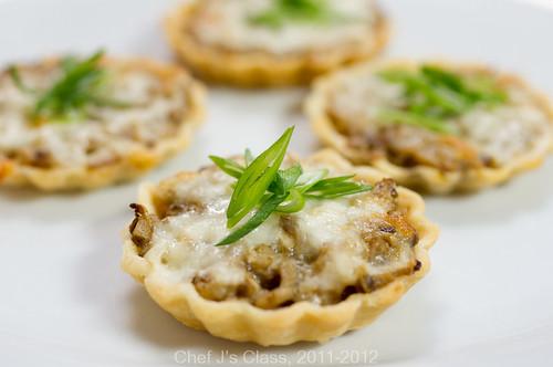 Тарталетки с курицей и грибами рецепты