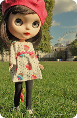 Por el camino...el London eye!!