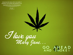 GO AHEAD and SMOKE (PATISentertainment) Tags: wallpaper green ahead work weed smoke go thc marijuana weekly blunt cannabis joint typohraphy