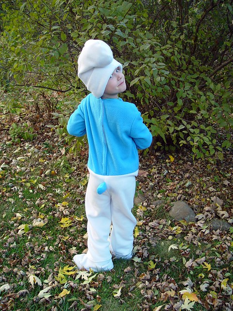smurf costume, view 4