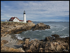 Portland Head Light (sking5000) Tags: ocean light lighthouse portland head maine atlantic sking5000