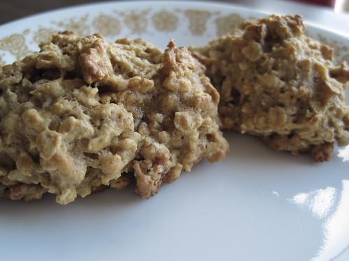 Pumpkin Oatmeal Pecan Cookies