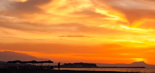 Sunset Rethymnon