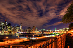 NYC from Brooklyn Heights (Moniza*) Tags: nyc newyorkcity night nikon downtown manhattan brooklynheights explore d90 explored moniza