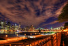 NYC from Brooklyn Heights [EXPLORE] (Moniza*) Tags: nyc newyorkcity night nikon downtown manhattan brooklynheights explore d90 explored moniza