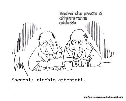 Sacconi: rischio attentati by Livio Bonino