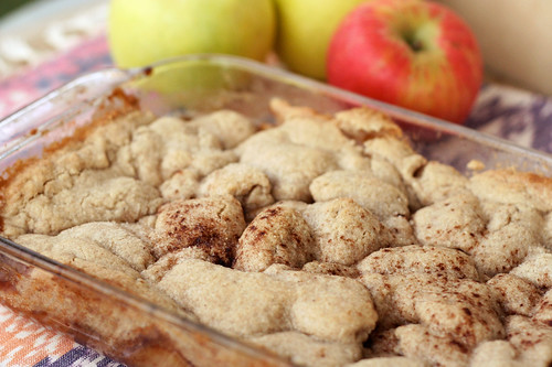 Gluten-free Vegan Apple Cobbler