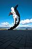 Digital orca (Zorro1968) Tags: art vancouver bricks stock artforsale hdr douglascoupland digitalorca