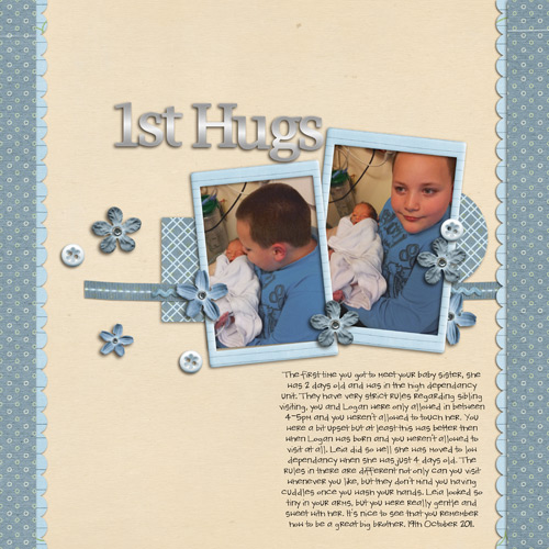 Lukas and Leia 1st Hugs by Lukasmummy