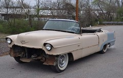 "1956 Series 62 Red Convertible Cadillac restoration • <a style=""font-size:0.8em;"" href=""http://www.flickr.com/photos/85572005@N00/6303504520/"" target=""_blank"">View on Flickr</a>"