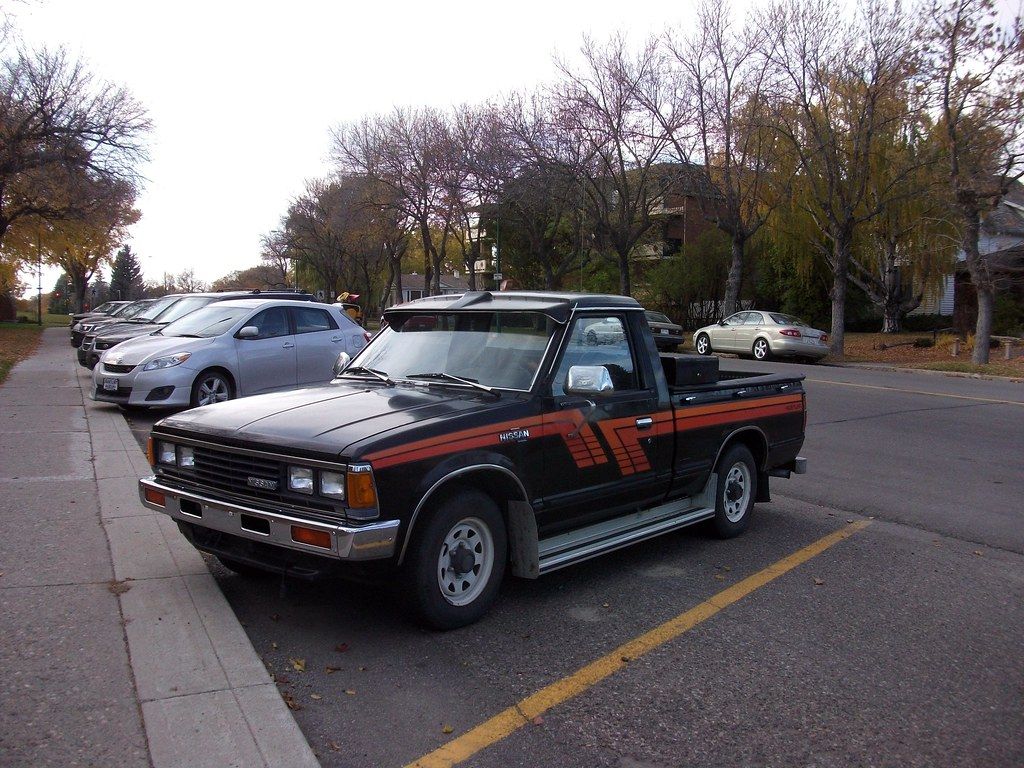 1983 Nissan Hustler pickup truck