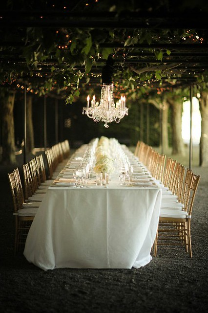 pretty wedding tables
