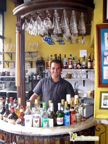 Bartender at La Guarida - Paladar - Havana Cuba