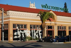 STRIKE Graffiti - Oakland, CA (EndlessCanvas.com) Tags: ca graffiti oakland wholefoods strike californai occupy strikegraffiti occupyeverywhere occupyoakland occupywholefoods wholefoodsgraffiti wholefoodsvandalism