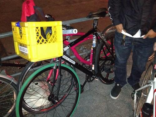 84's bike (Tokyo to Osaka)