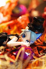 Nine Tails Dialy04_9Tails Halloween 08 (sora-to-hari) Tags: halloween candy blackdress gothiclolita    ninetalesdiary  renge00 00