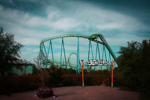 The Jester - Six Flags NOLA