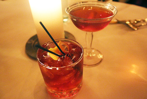 Negroni and Fernet Segale by Caroline on Crack