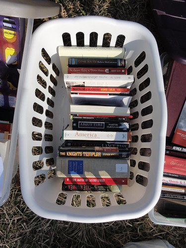 Books in the Occupy Orlando Free Library