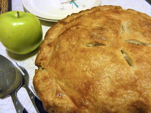 Apple-ginger pie