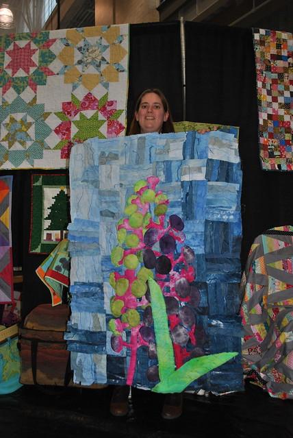 Barbara's newest quilt