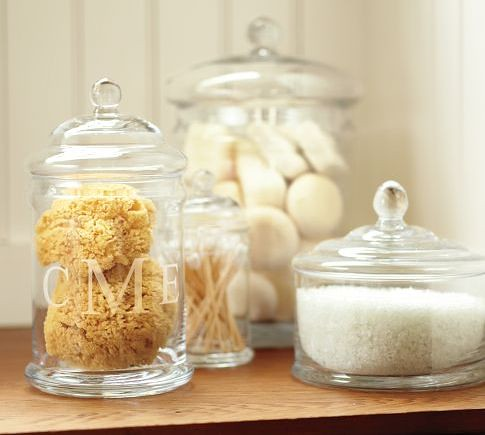 Pottery Barn Canisters