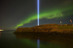 Imagine Peace Tower (sta M) Tags: iceland peace johnlennon reykjavk soe yokoono viey imaginepeacetower friarslan