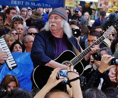 David Crosby Occupy Wall Street 2011 Shankbone
