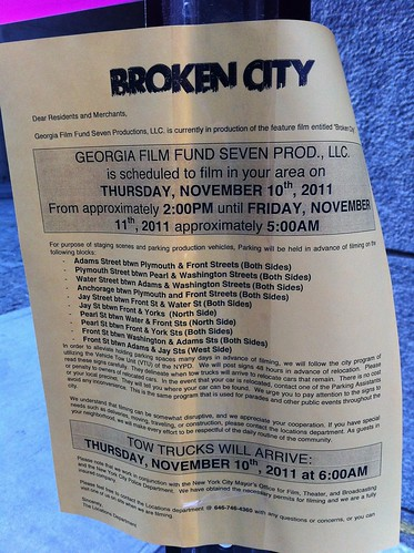 Filming: Broken City