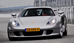 The Carrera GT. (Laurens Driest) Tags: autumn netherlands germany photography nikon automotive porsche tt groningen gt laurens circuit supercar carrera assen trofee vijverberg 2011 driest