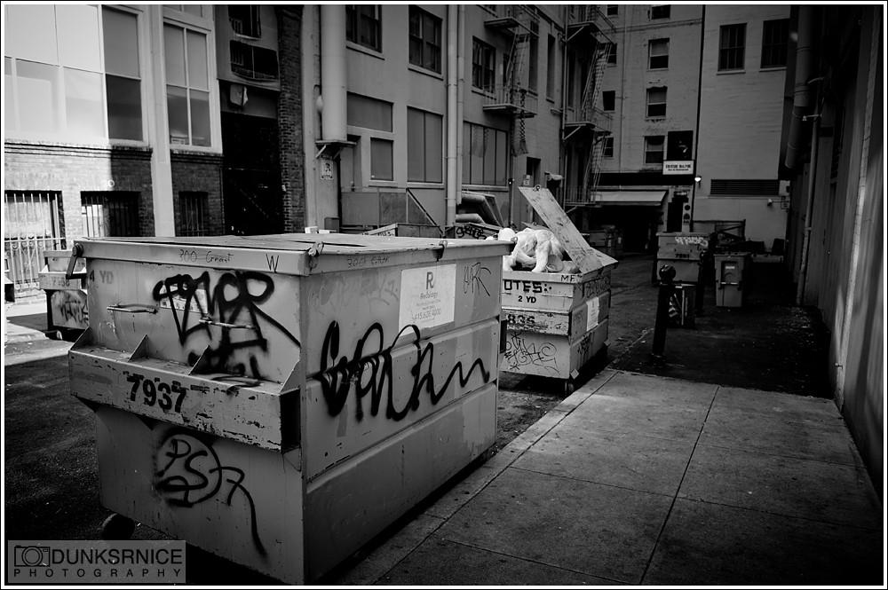 Dump B&W.