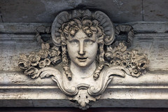 Door head (ejhrap) Tags: portrait italy rome roma building head marble scupture
