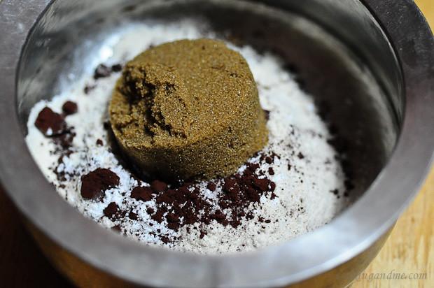 Chocolate Coffee Self-Saucing Pudding