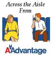 Across the Aisle from AAdvantage Program