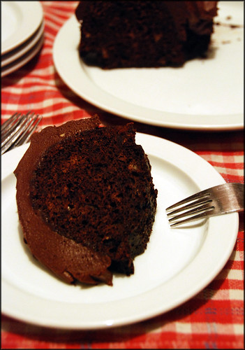 Root Beer Choclate Bundt Cake